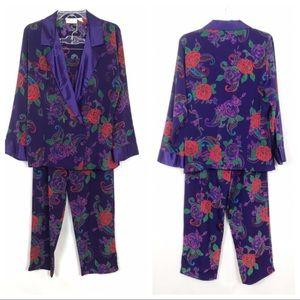 Vintage | Victoria's Secret | PJ Set | S | Purple